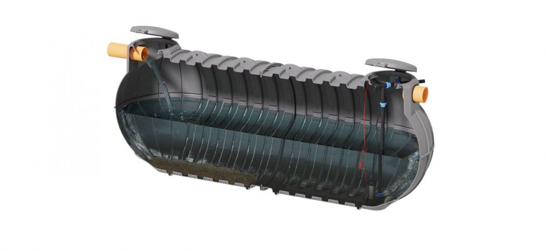 vasca di laminazione con pompa